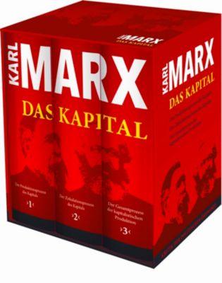 Das Kapital, 3 Bde., Karl Marx