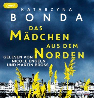 Das Mädchen aus dem Norden, 2 MP3-CDs, Katarzyna Bonda