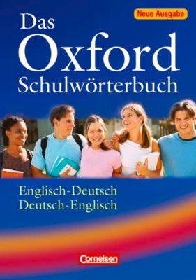 Das Oxford Schulwörterbuch, Englisch-Deutsch / Deutsch- Englisch