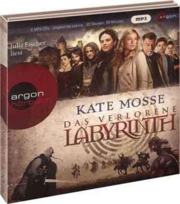 Das verlorene Labyrinth, 2 MP3-CDs, Kate Mosse