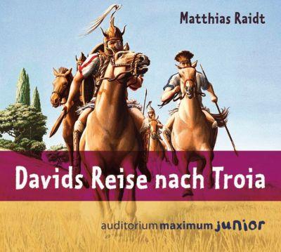 Davids Reise nach Troia, 2 Audio-CDs, Matthias Raidt