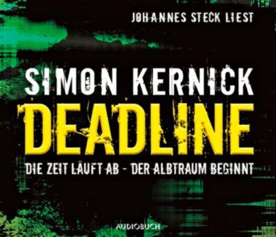 Deadline, 6 Audio-CDs, Simon Kernick