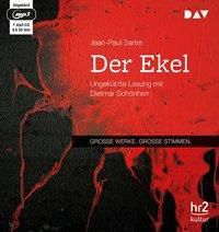 Der Ekel, 1 MP3-CD, Jean-Paul Sartre