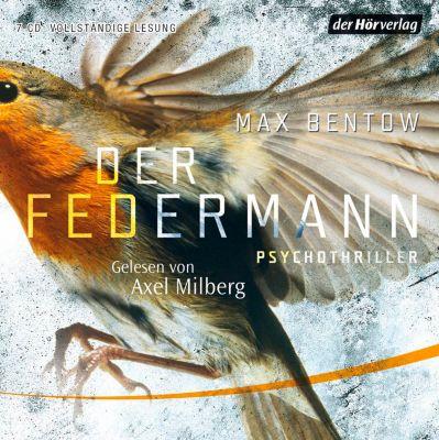 Der Federmann, 7 Audio-CDs, Max Bentow
