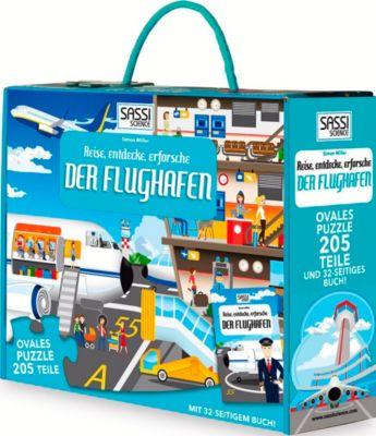 Der Flughafen - Puzzle 205 Teile