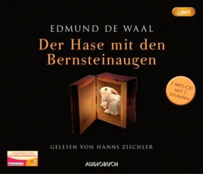 Der Hase mit den Bernsteinaugen, 1 MP3-CD, Edmund De Waal