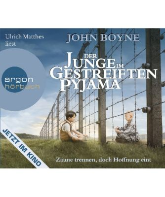 Der Junge im gestreiften Pyjama, 4 Audio-CDs, John Boyne