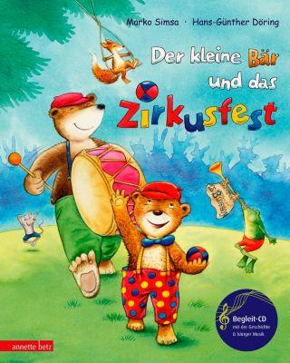 Der kleine Bär und das Zirkusfest, m. Audio-CD, Marko Simsa