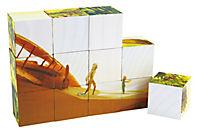 Der Kleine Prinz- kleines Würfelpuzzle 12tlg. - Produktdetailbild 1