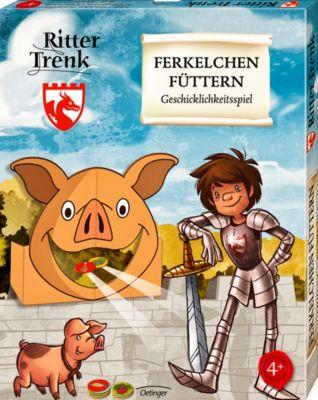 Der kleine Ritter Trenk, Ferkelchen füttern (Kinderspiel), Kirsten Boie