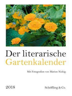 Der literarische Gartenkalender 2018