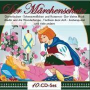Der Märchenschatz, 10 CDs, Various, Paetsch, Konrad, Anders, Vanhaiden
