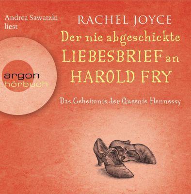 Der nie abgeschickte Liebesbrief an Harold Fry, 6 Audio-CDs, Rachel Joyce