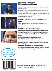 Der optimale Einstieg in die Heilpraktikerausbildung, 3 DVDs - Produktdetailbild 1