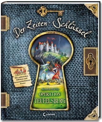 Der Zeiten-Schlüssel Band 1: Operation Teufelsburg, Nicholas Harris