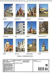 Dessau - Anhaltisches Erbe (Wandkalender 2019 DIN A3 hoch) - Produktdetailbild 13
