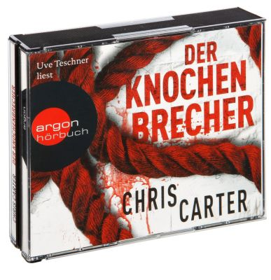 Detective Robert Hunter Band 3: Der Knochenbrecher, 6 CDs, Chris Carter