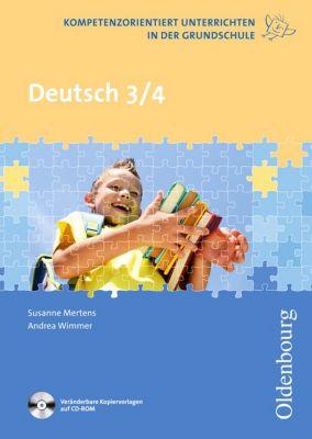 Deutsch 3/4, mit CDR, Susanne Mertens, Andrea Wimmer