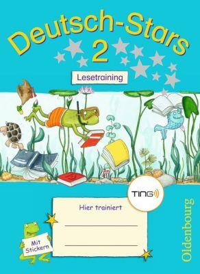 Deutsch-Stars (TING-Ausgabe): 2. Schuljahr: Lesetraining, Ursula Kuester, Cornelia Scholtes, Annette Webersberger