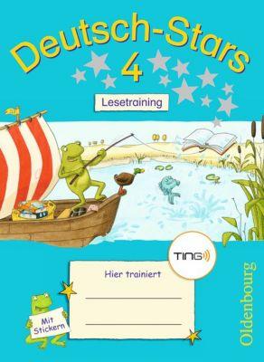 Deutsch-Stars (TING-Ausgabe): 4. Schuljahr: Lesetraining, Ursula Kuester, Cornelia Scholtes, Annette Webersberger