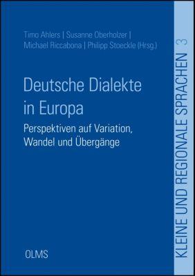 Deutsche Dialekte in Europa