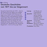 Deutsche Geschichte, Von 1871 bis zur Gegenwart, 10 Audio-CDs - Produktdetailbild 1