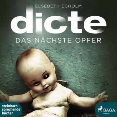 Dicte - Das nächste Opfer, 2 MP3-CDs, Elsebeth Egholm, Dagmar Bittner