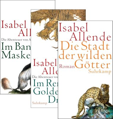 Die Abenteuer von Aguila und Jaguar, 3 Bde, Isabel Allende