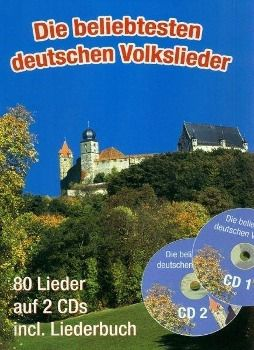 Die beliebtesten deutschen Volkslieder, m. 2 Audio-CDs, Gerhard Hildner