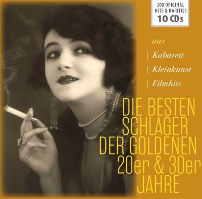 Die besten Schlager der Goldenen 20er & 30er Jahre, 10 CDs, Diverse Interpreten