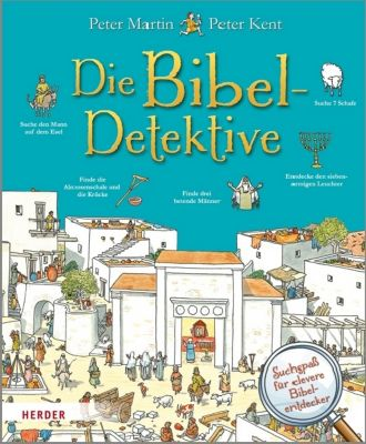 Die Bibel-Detektive, Peter Martin, Peter Kent