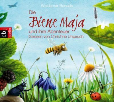 Die Biene Maja und ihre Abenteuer, 2 Audio-CDs, Waldemar Bonsels, Frauke Nahrgang