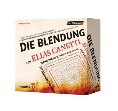 Die Blendung, 12 Audio-CDs, Elias Canetti