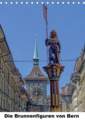Die Brunnenfiguren von Bern (Tischkalender 2018 DIN A5 hoch), Susan Michel