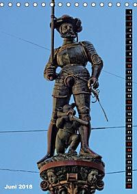 Die Brunnenfiguren von Bern (Tischkalender 2018 DIN A5 hoch) - Produktdetailbild 6