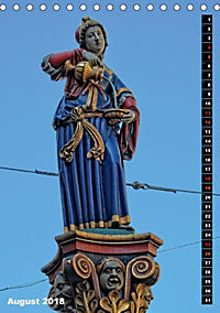 Die Brunnenfiguren von Bern (Tischkalender 2018 DIN A5 hoch) - Produktdetailbild 8