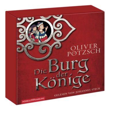 Die Burg der Könige, 8 Audio-CDs, Oliver Pötzsch