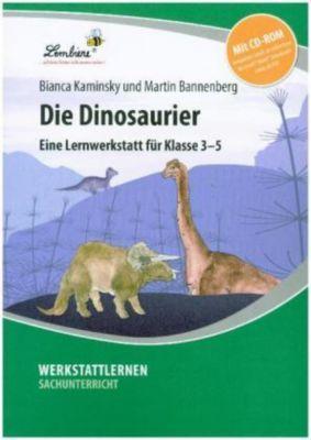 Die Dinosaurier, m. CD-ROM, Bianca Kaminsky, Martin Bannenberg