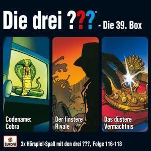 Die drei ??? - Die 39. Box (Folgen 116,117,118) (3 CDs), Die drei ???