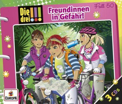 Die drei !!! - Freundinnen in Gefahr (Folge 50), Maja Von Vogel, Henriette Wich, Mira Sol, Ina Biber