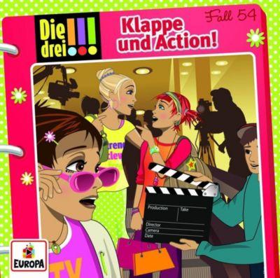 Die drei !!! - Klappe und Action!, 1 Audio-CD, Henriette Wich, Ina Biber