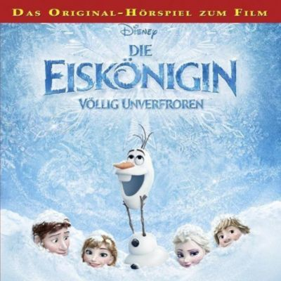 Die Eiskönigin, 1 Audio-CD, Walt Disney