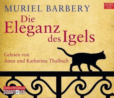 Die Eleganz des Igels, 6 Audio-CDs, Muriel Barbery