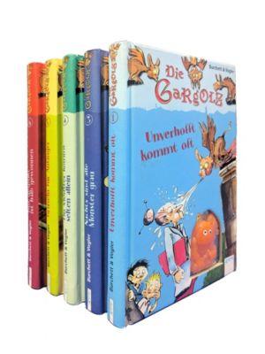 Die Gargolz, 5 Bände, Burchett, Vogler