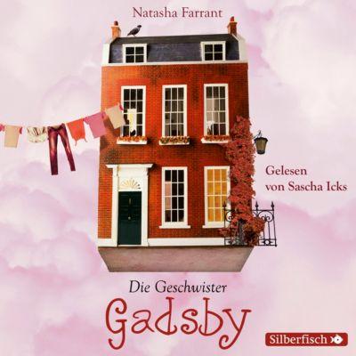 Die Geschwister Gadsby, 4 Audio-CDs, Natasha Farrant