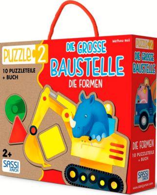 Die Grosse Baustelle - Die Formen (Kinderpuzzle)