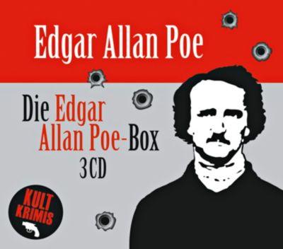Die grosse Edgar Allan Poe-Box, 3 CDs, Edgar  Allan Poe