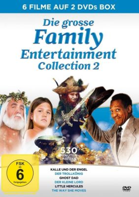 Die große Family Entertainment Collection 2, Bill Cosby, Hulk Hogan