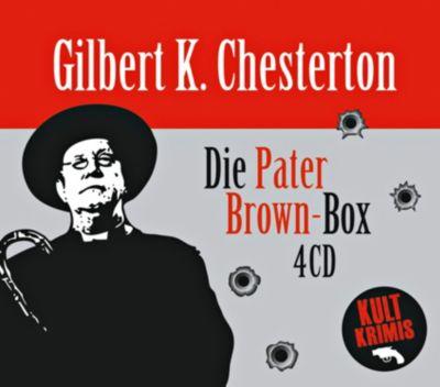 Die große Pater Brown-Box, 4 CDs, Gilbert K. Chesterton
