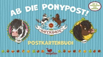Die Haferhorde - Ab die Ponypost! - Postkartenbuch, Suza Kolb
